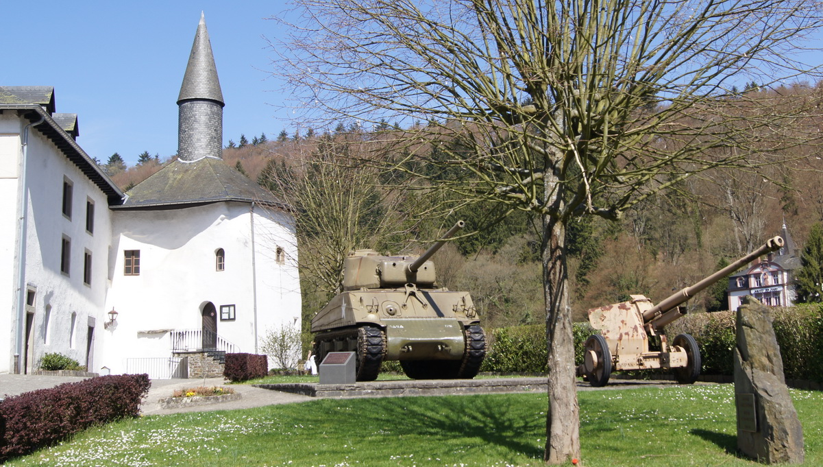 The Sherman in Clervaux